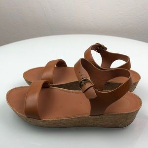 Fitflop Brown Leather Sandal